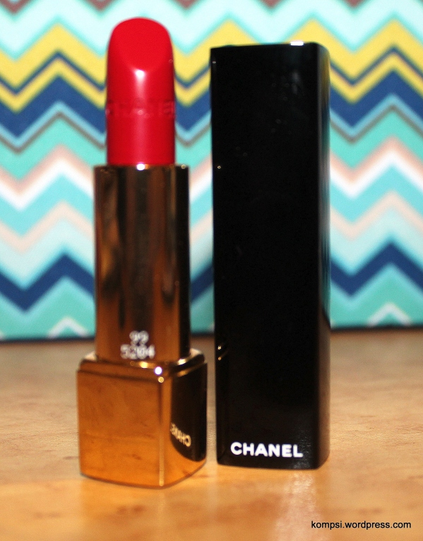 Chanel Rouge Allure Luminous Intense Lip Colour in Pirate