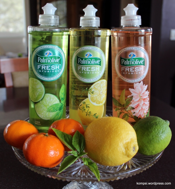 Palmolive's new Fresh Infusions dish soap