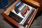 Third left drawer: Medium sized palettes