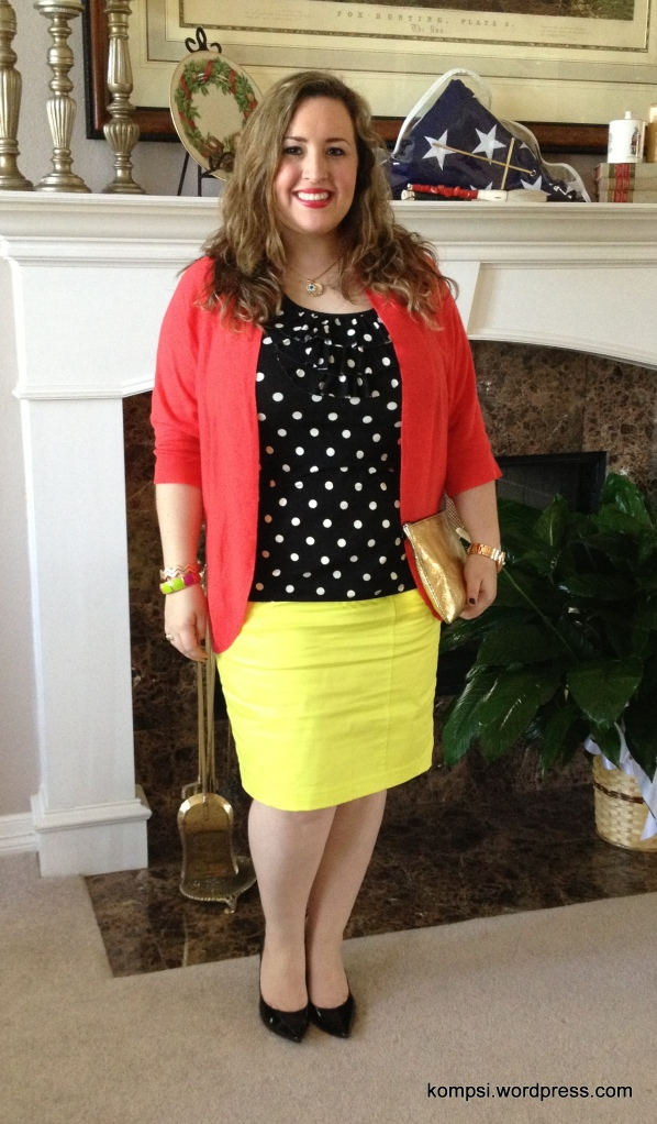 Color blocking from Target