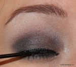Finish it off with a little black liquid liner...