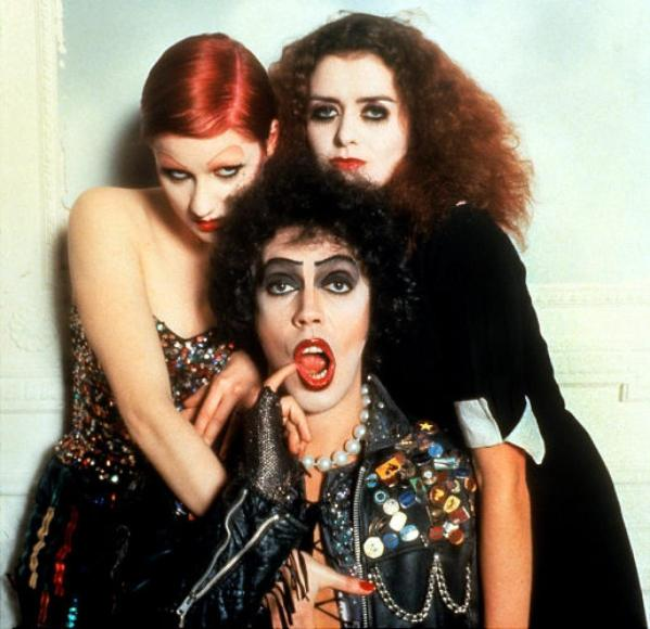 Columbia and Magenta with Dr. Frank N. Furter