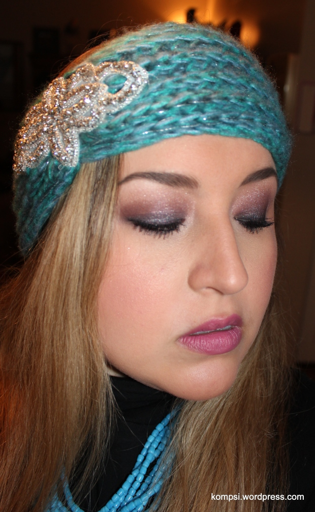 Eye makeup: Urban Decay Naked3 palette Lips: Maybelline The Mattes Lush for Blush