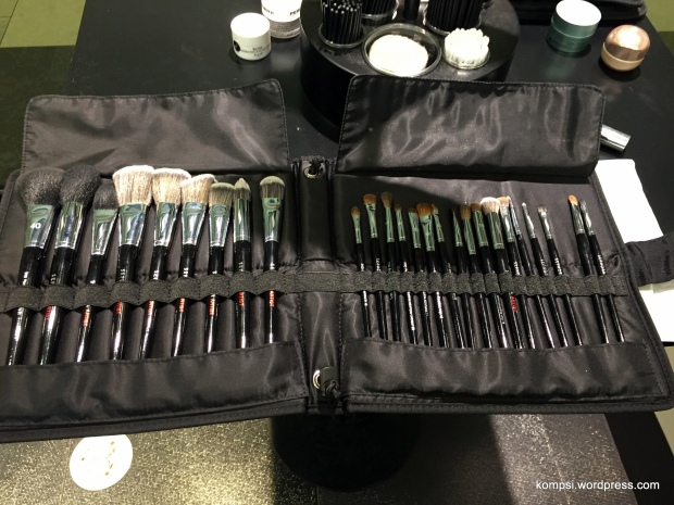 Brush kit provided for each person