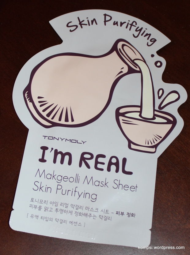 Makgeolli Mask
