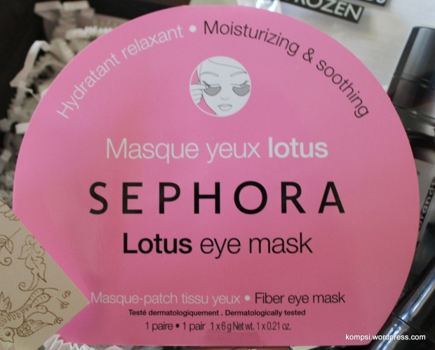 Sephora Lotus Eye Mask