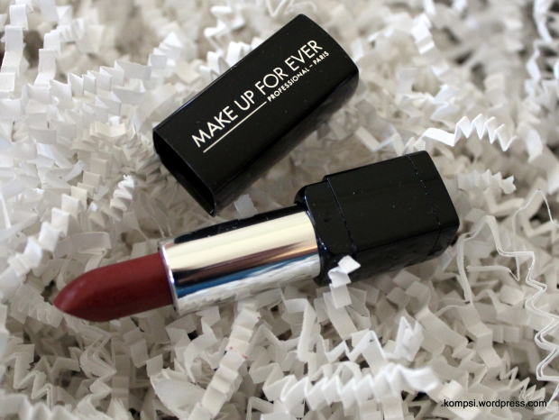 Make Up For Ever Rouge Artist Natural Lipstick in Copper Pink
