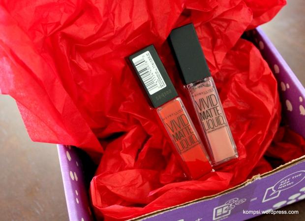 Maybelline Color Sensational Vivid Matte Liquid Lipsticks